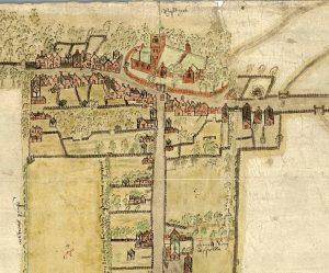 Historische kaart van Rijswijk