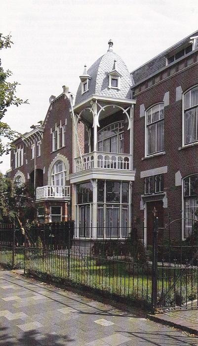 Een woonhuis in Jugendstil stijl