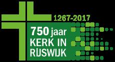 Logo 750 jaar kerk in Rijswijk